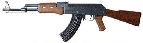 double eagle full auto electric metal aeg ak-47 rifle fps-350 airsoft gun(Airsoft Gun) -best cheap airsoft assault rifles