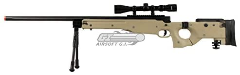 #2 Well Full Metal Airsoft Sniper Rifle