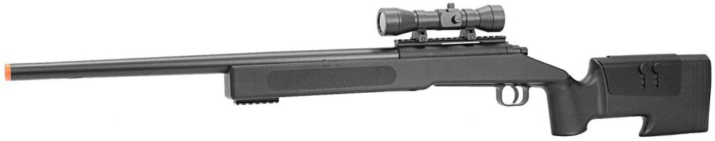 #4 The BBTAC M62 Airsoft Sniper Rifle